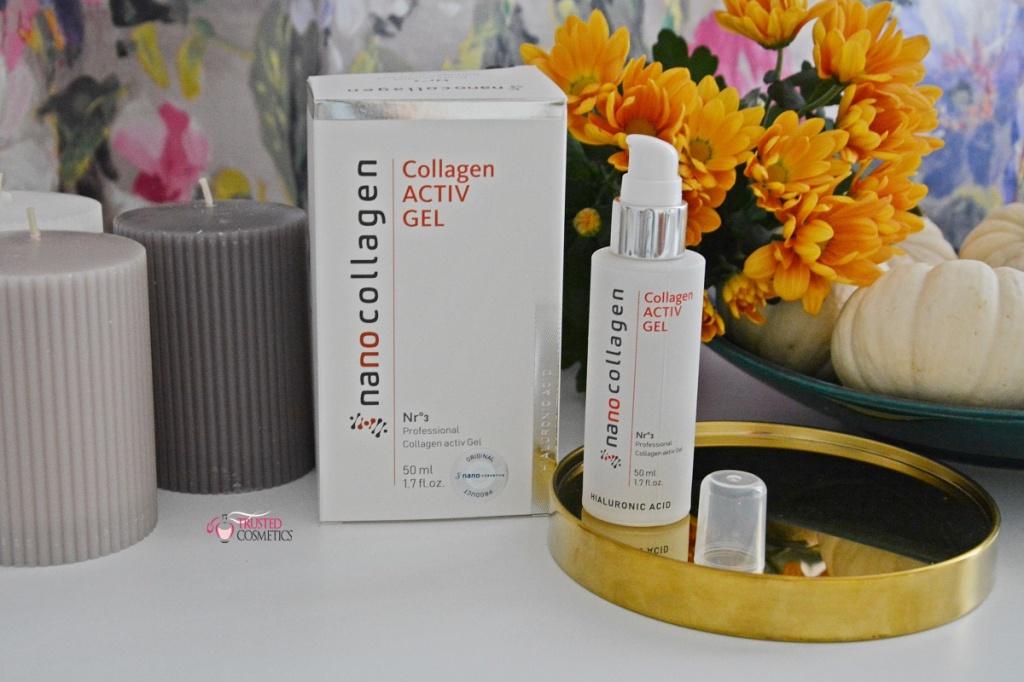 ctive Gel HialuronicAcid NanoCollagen - recenzje, opinie, blog kosmetyczny TrustedCosmetics.pl